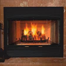 heat circulating wood burning fireplace