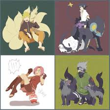 I love this one of pokemon and Naruto n,n (With images)