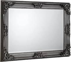 julian bowen wall mirror pewter one