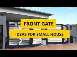 45 Best Front Gate Design Ideas For Small House 2018 Youtube