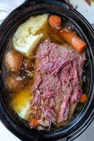 CROCKPOT CORNED BEEF and CABBAGE ...