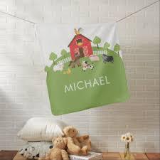 Farm Shower Nursery Kids Room Decor Zazzle