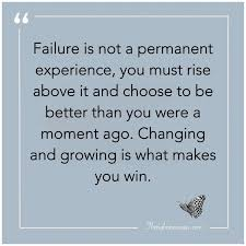 inspirational quotes about failure the right messages