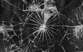 realistic broken screen wallpaper hd