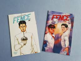 Comic Review Fence 1 By C S Pacat And Johanna The Mad Silvia Reads Books