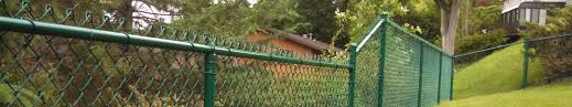Green Vinyl Coated Chain Link Fencing Phillips Outdoor Services Onalaska Wi