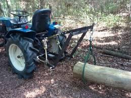 free home built log skidder plans
