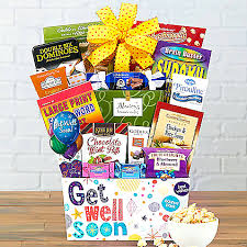 bed rest gift basket get well gift for