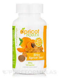 bitter apricot seed 60 mg 180 capsules