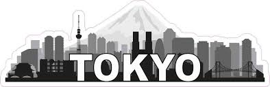 10in X 3 25in Tokyo Skyline Sticker Vinyl Window Decal Bumper Stickers Stickertalk