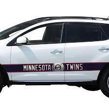 Minnesota Twins Team Ball Racing Stripe Car Decals