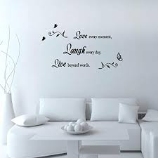 Lchen Removable Vinyl Decal Live Every M Buy Online In China At Desertcart