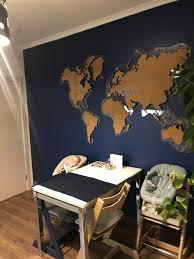 Map Push Pins Map For Wall World Map Wall Map Cork Board Etsy In 2020 Home Decor Boho Decor Globe Decor
