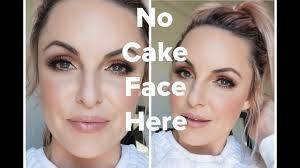 flawless look with no cake face