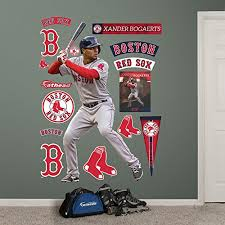 Mlb Boston Red Sox Xander Bogaerts Fathead Wall Decal Real Big Chiyembekezo Gwilherm
