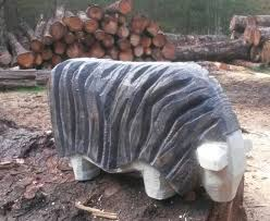 chainsaw carvings ramsey the sheep