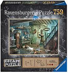 Amazon Com Ravensburger 16435 Forbidden Basement 759 Piece Jigsaw Puzzle For Kids And Adults Ages 12 And Up An Escape Room Experience In Puzzle Form Toys Games