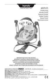ingenuity 60378 es portable swing