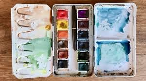 how to make watercolor pans a