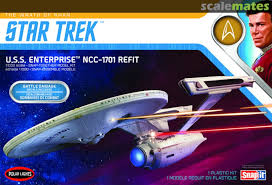 Uss Enterprise Ncc 1701 Refit Polar Lights Pol974m 12 2019