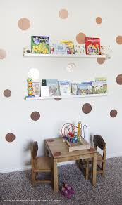 Diy Kids Room Wall Decor And Book Storage