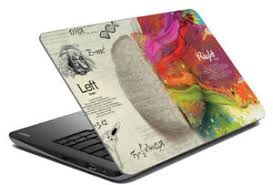 Brain Laptop Skin Notebook Protector Art Cover Decal Fit S 14 1 X 15 6 Ebay