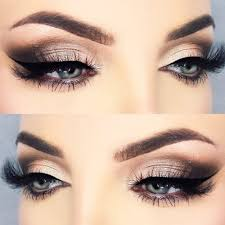 makeup ideas with cat eyeline picture 4