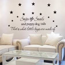 Stars That Is What Little Boys Are Made Of Wall Stickers Letters Living Room Indoor Wall Art Decoration Diy Removable Decals Wall Art Decor Star Boyart Decor Aliexpress