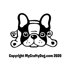 French Bulldog Car Decal Sticker Frenchie Window Vinyl Dog Decals Cute Lying Down Dog Love Gift Bouledogue Francais In 2020 Car Decals Stickers Cute French Bulldog French Bulldog