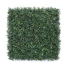 Venicenight Artificial Leaf Grass Fence Evergreen Screen Hedge Panels Emulated Plant Wall Lazada Ph