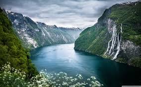 norway fjord ultra hd desktop
