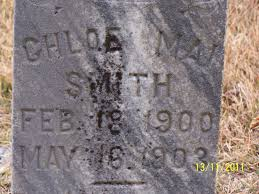 Chloe Mai Smith (1900-1903) - Find A Grave Memorial