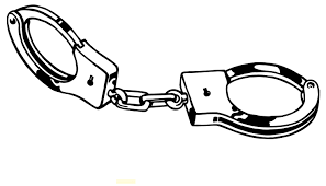 Police Cuffs Clipart Black And White Clip Art Library