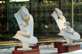 gold filigree on display picture of