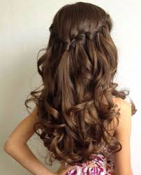 تسريحات شعر طويل ناعمة للسهرات