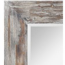 wood framed bathroom mirrors home