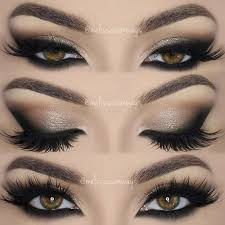 eye makeup smokey brown eyes saubhaya