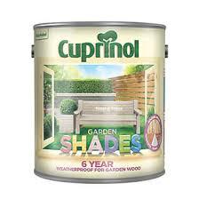 Cuprinol Garden Shades Wood Paint Matt Natural Stone 2 5ltr Exterior Wood Paint Screwfix Com