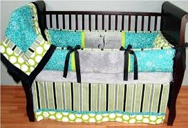 turquoise baby bedding orange and