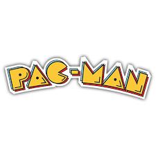 Sticker Pac Man Logo Muraldecal Com