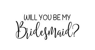 Will You Be My Bridesmaid Maid Of Honor Vinyl Decal Bridesmaid Etsy Will You Be My Bridesmaid Be My Bridesmaid Bridesmaid Proposal