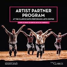 Artist Partner Program at The Clarice Smith Performing Arts Center ...