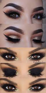 simple tips make up look for brown eyes