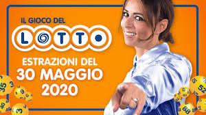 Estrazione Lotto 30 maggio 2020 con 10 e Lotto e Simbolotto