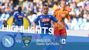 Highlights Serie A - Napoli vs Lecce 2-3 - YouTube