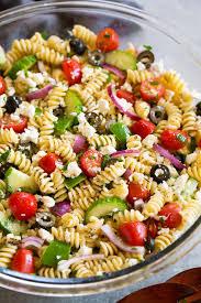 Greek Pasta Salad - Cooking Classy