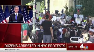Peaceful NYC Rallies Turn Violent ...