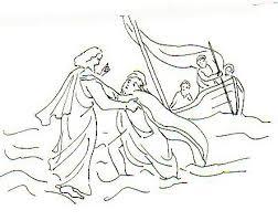 Jésus marche sur les eaux | Images Bible : Les Images de la Bible
