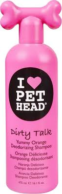 pet head dirty talk deodorizing shoo