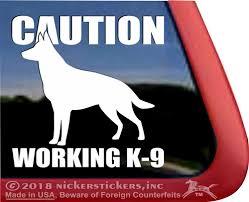 German Shepherd Dog Decals Stickers Nickerstickers
